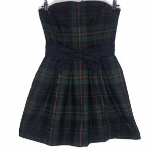 Abercrombie & Fitch Plaid Wool Dress Size 2